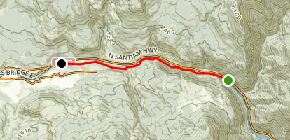 North Santiam River: Big Cliff Dam to Packsaddle County Park Map