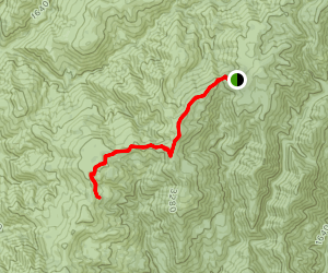 High Dome Trail Map