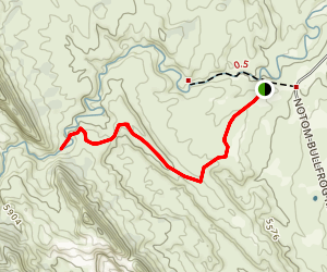 Red Canyon Trail Map