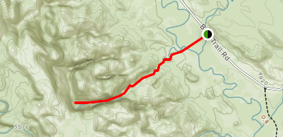 Suprise Canyon Route Map