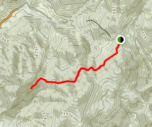 King Mountain Truck Trail Map