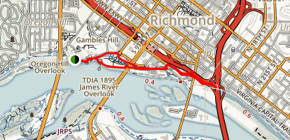 Canal Walk Map