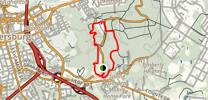 Encampment Loop Trail Map