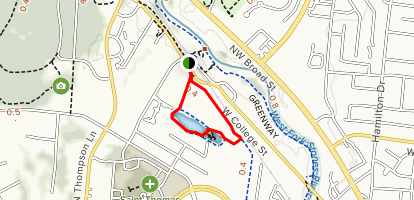 College Street Pond Loop Map
