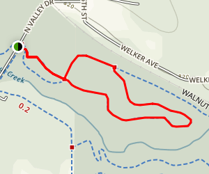 J11 Mountain Bike Trail Map