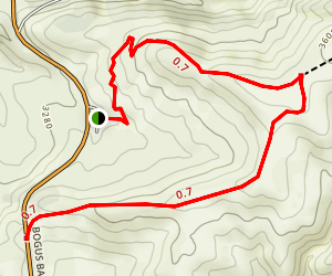 Corrals Trail: Miller Gulch Trailhead to Corrals-Bogus Basin Road Trailhead Map