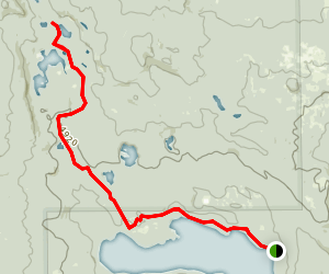 Snowshoe Lake Trail Map