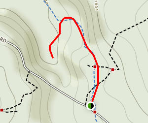 University Falls Trail Map