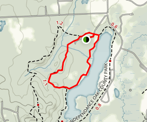 Lakeshore-Rockridge Loop Trail Map