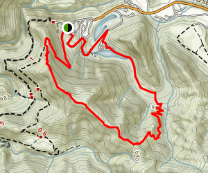 Arroyo Seco Ridge Trail Map