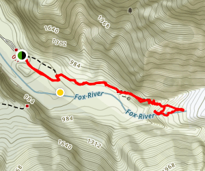 Fox Glacier Map