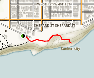Sunken City [CLOSED] Map