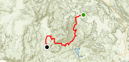 Black Canyon Road to Pamo Road Map