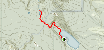 Miller Lake to Maidu Lake Map