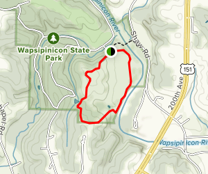 Wapsipinicon State Park Loop Trail Map