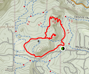 Brother's Lookout Map
