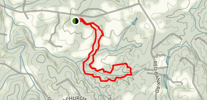 Horizons Park Loop Hike Map