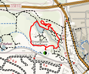 May Arboretum and Herman Pond Trail Map