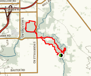 Blackhawk Springs and Oak Ridge Forest Preserve Trail Map