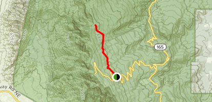 10K Trail (North Section) Map