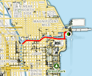 Riverwalk Chicago Map.Chicago Riverwalk Illinois Alltrails