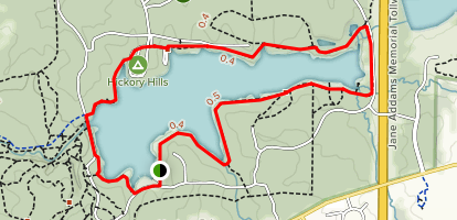 Pierce Lake Trail Map