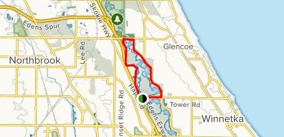 North Branch Trail Map