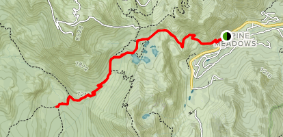 Whisky Creek Camp Trail Map