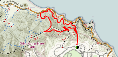 Peacock Gap Trail Map