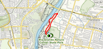 Aldo Leopold Loop Trail Map