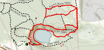 Pulpit Rock Loop Trail Map