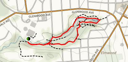 Upper Tree Trail Map