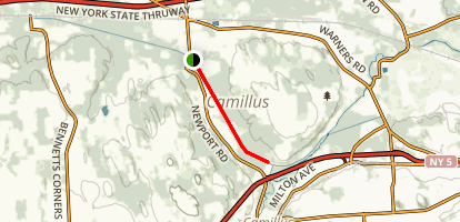 Erie Canalway Trail: Warners to Camillus Map
