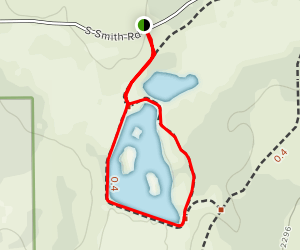 Pine Lakes Loop Trail Map
