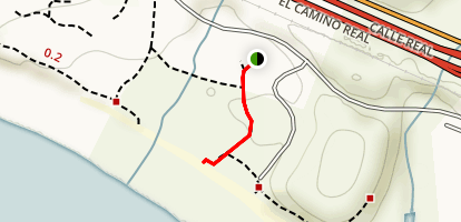 Haskell's Beach Access Trail Map