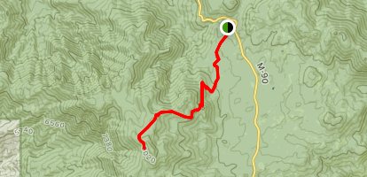 Slate Mountain Trail Map