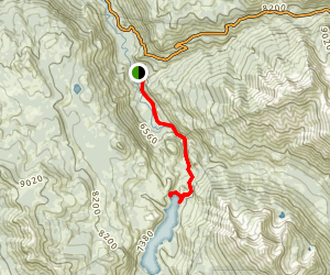 Kennedy Meadows to Relief Reservior Trail Map