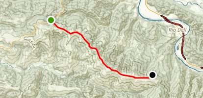 Bear River Ridge Road Map