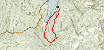 Granite & Hidden Lakes Trail Map