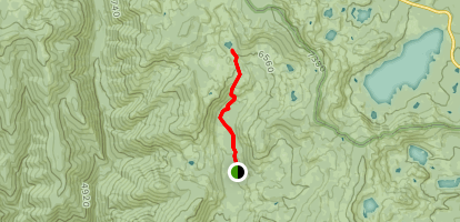 Gold Valley Trail Map