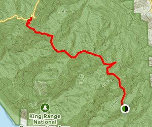 King Crest Trail Map