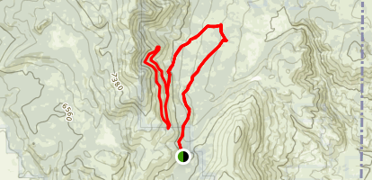 Crystal Peak Loop Map