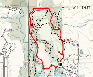 Kill Creek Streamway Trail Map