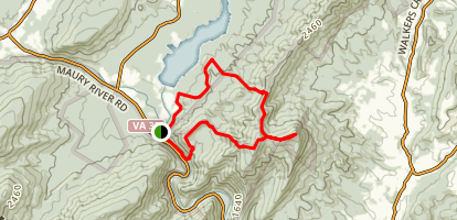 Jump Rock Trail Map