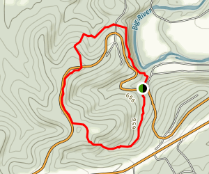 Opossum Track Trail Map