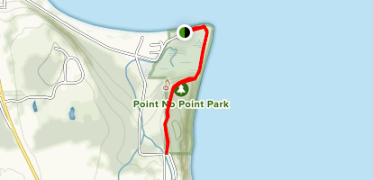Point No Point Lighthouse and Park Trail Map