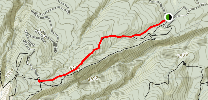 Tilly Jane Trail Map