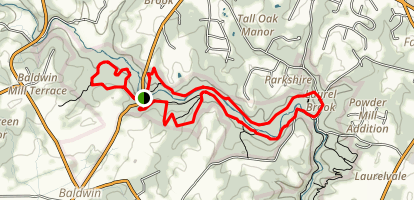 Pleasantville Loop Trail Map