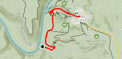 Echo River and River Styx Springs Trail Map