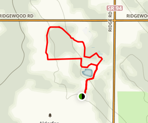 Alderfer/Oenslager Wildlife Sanctuary Loop Map